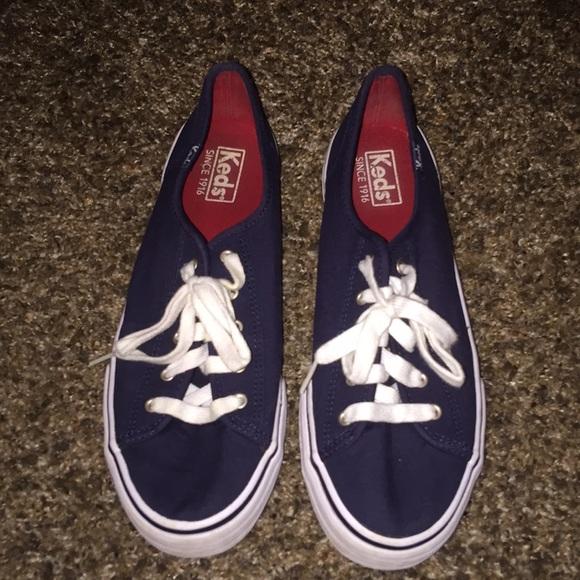 Keds Shoes | Navy Blue Keds Kickstart